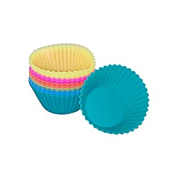 Silicone Cupcake & Muffin Cup Molds