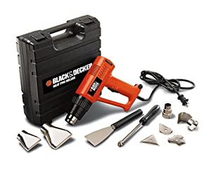 Black & Decker C800620 Heat Pro Deluxe Hot Air Tool Kit