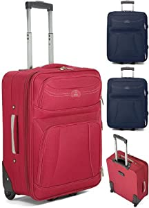 21 Inch Cabin Approved Wheeled Flight Cabin Bag Small Suicase Hand Luggage