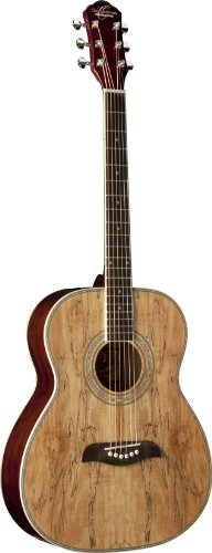 Oscar Schmidt Of2Sm 6-String Acoustic Guitar - Spalted Maple