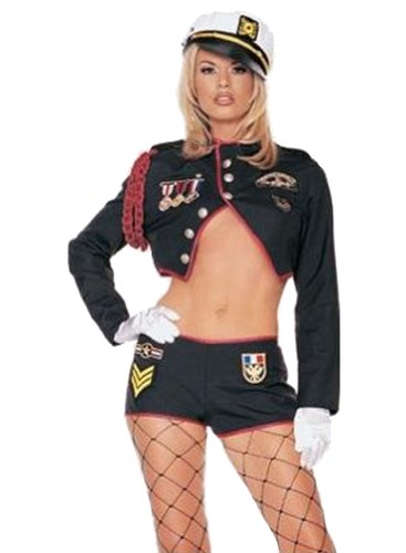 Sexy Army Trooper Uniform Adult Halloween Costume
