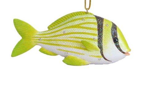 Pork Fish Christmas Ornament, December Diamonds Aquatic Collection