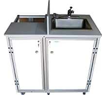 Hot Sale Monsam PRO-01 Propane Powered Self Contained Portable Sink, White