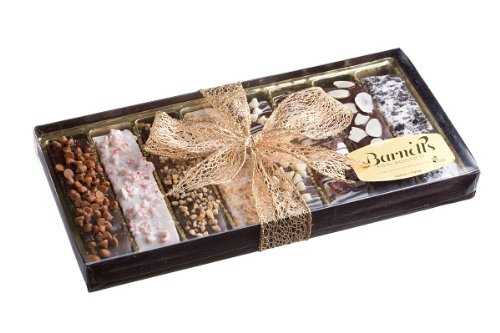 Gourmet Chocolate Biscotti Gift Display Box