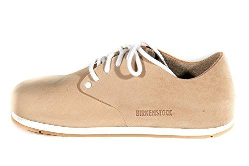 BIRKENSTOCK MAINE SAND 672301 scarpe sneaker anatomici pelle scamosciata (EUR 38 NORMAL)