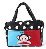 EZ Life Kids Carry Bag - Brown - Dots - Monkey (Small)