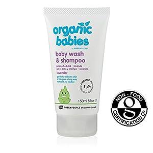 Bebés orgánicos Lavanda bebé Wash & Shampoo 150ml - BebeHogar.com