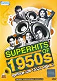 Superhits Of 1950s Vol. 2 (Bollywood Hit Music Videos Of The 50s / Old Hindi Black & White Film Songs Compilation DVD)