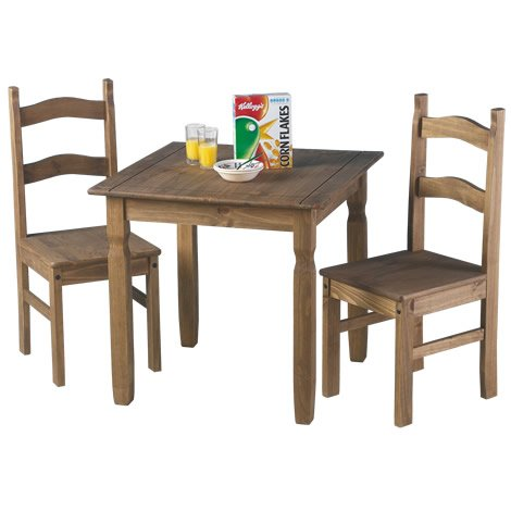 2 Seater Kitchen Table Set Dove White 2 Seater Square Breakfast Table And Chairs