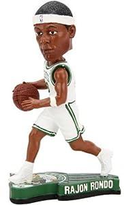 Boston Celtics Rajon Rondo #9 NBA Basketball Pennant Base Bobble Head by Forever Collectibles