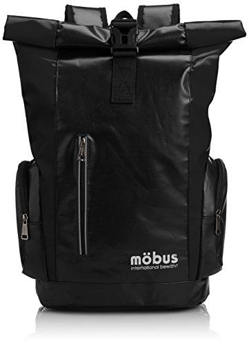 [モーブス] Mobus MBX TARPAULINシリーズ ロールトップリュック MBX508 BLACK (ブラック)