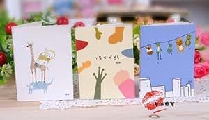 Cartoon Little Notebook Handy Notepad Paper Notebook [Kitchen]