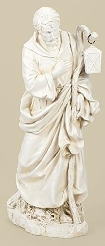"38"" Joseph Fig Ivory Painted"