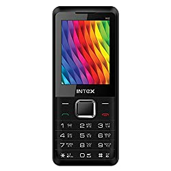 Intex Turbo M2 With Expandable memory upto 32+32 GB (Dual SD Card) (Dual Sim) (Black & Red)