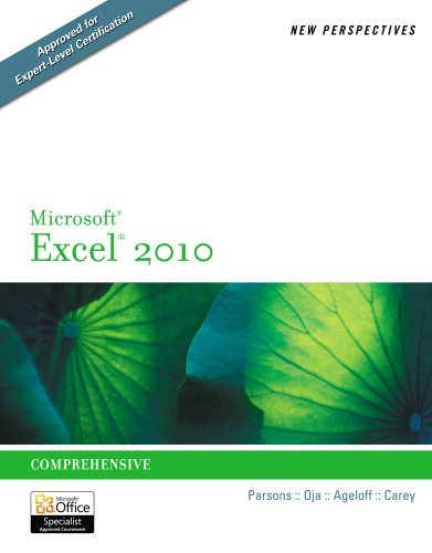 New Perspectives on Microsoft Excel 2010: Comprehensive (New...