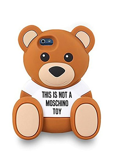 cover case moschino orsetto toy per apple iphone 6