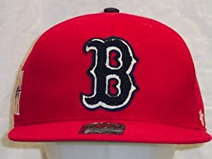 Boston Red Sox Caterpillar 47 Pro Wool Cooperstown Fitted Red Cap Hat size 7 1 8 by