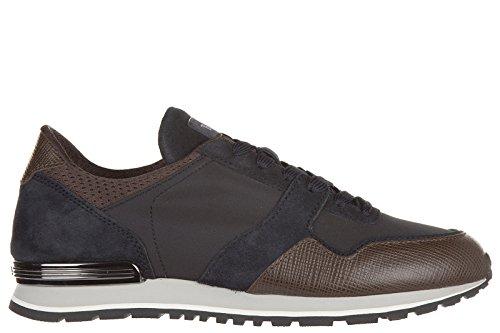 tods-scarpe-sneakers-uomo-in-nylon-nuove-spoiler-metallo-gomma-nero-eu-435-xxm0xh0n6309sz768k