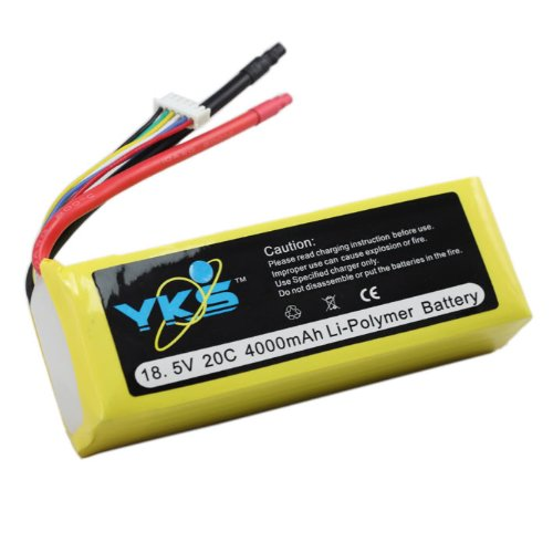 4000mah 5s 18.5v 20c Rc Lipo Battery Trex 500 3d Fly
