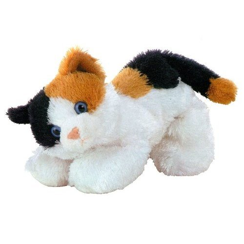Plush Esmeralda Calico Cat Mini Flopsie 8