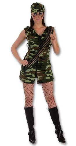 417Awfu5PDL Major Trouble Sexy Army Uniform Adult Costume / Fancy Dress