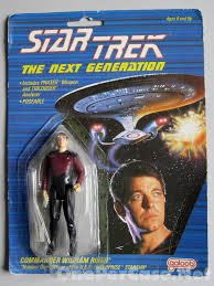 "Star Trek the Next Generation Commander William T. Riker 3.5"" Action Figure"