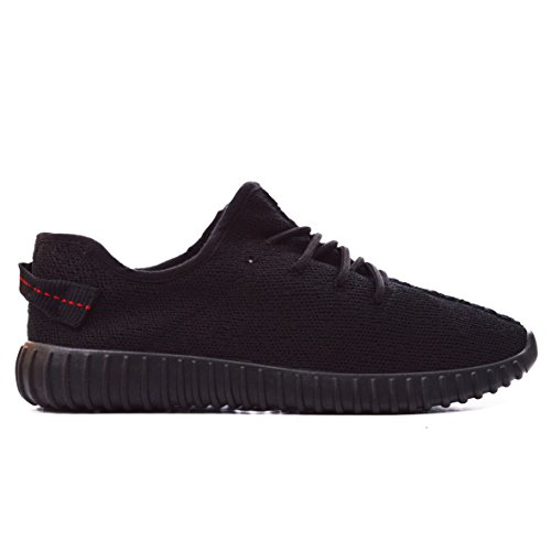 mens-running-trainers-gents-fitness-gym-sports-yeezy-boost-shock-shoes-40-45black-uk9-eu43-us11