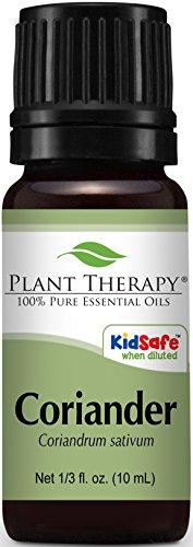 Coriander Essential Oil. 10 ml (1/3 oz). 100% Pure, Undiluted, Therapeutic Grade.