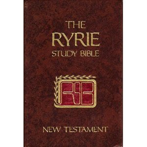 The Ryrie Study Bible, New Testament: New American Standard Version with Introductions, Aannotations, Outlines, Marginal