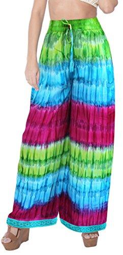 baggy-trouser-beachwear-tiedye-elastic-waist-ankle-length-comfy-airy-lounge-wear-palazzo-pants