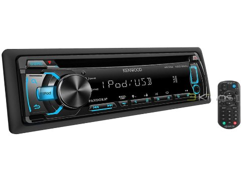 Kenwood KDC-255U In-Dash USB/CD Receiver – Made For iPhone