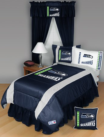Perfect Low priced Seattle Seahawks Bedding Set pc TWIN Comforter Bed Set
