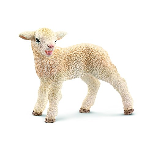Schleich Lamb Toy Figure