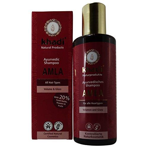 Khadi Shampoo Amla Rinforzante Anti Caduta Volumizzante