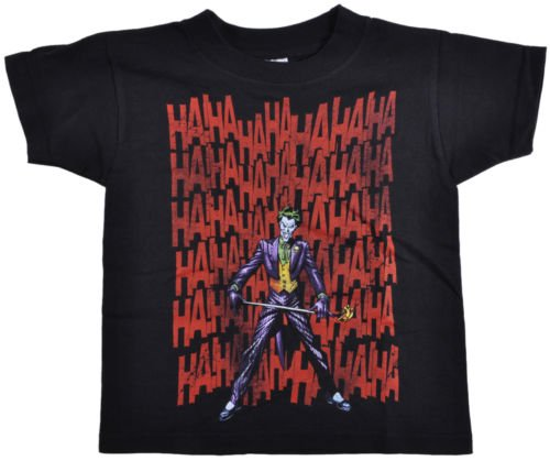 DC Comics The Joker Suicide Squad Supervillain Injustice Gang Youth Shirt Small