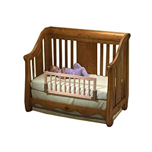 KidCo Convertible Crib Rail - Natural Wood