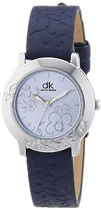 dk daniel khone Damen-Armbanduhr XS Young Lady Analog Quarz Leder DKLA-90444-31LB