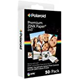 Polaroid 2x3 inch Premium ZINK Photo Paper QUINTUPLE PACK (50 Sheets) - Compatible With Polaroid Snap, Z2300, SocialMatic Instant Cameras & Zip Instant Printer