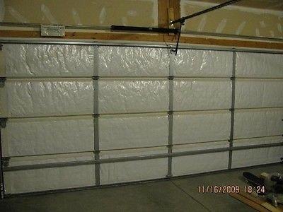 NASA Tech White Reflective Foam Core Garage Door Insulation Kit 9L x 7H (Garage Door Insulation Kit 20 compare prices)