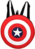 #5: Auxter Red Polyester 20L Avengers Captain America Shield School Backpack