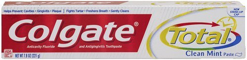 Colgate Total Anticavity Fluoride And Antigingivitis