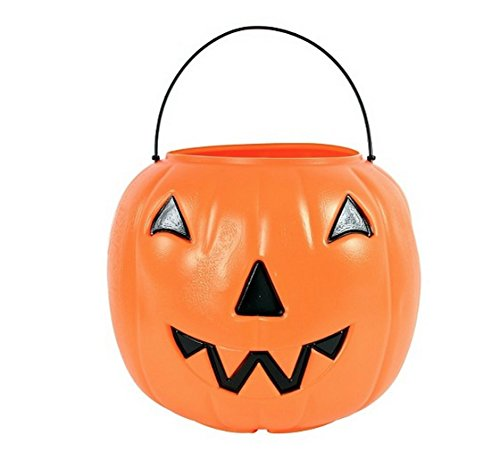Halloween Candy Pumpkin Pail - Great for Treat R Treat