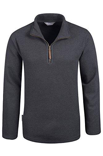mountain-warehouse-beta-mens-windproof-zip-neck-top-charcoal-xx-large