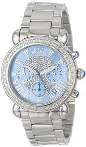 """JBW Women's JB-6210-G """"Victory"""" Blue Stainless Steel Diamond Watch"""