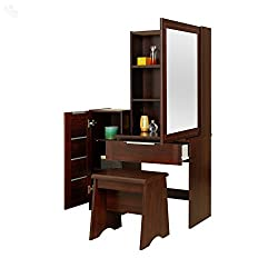 Royal Oak Dressing Table (Honey Brown)