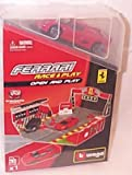 Race and play open & play set comes with one red ferrari F50 car 1.43 scale diecast model
