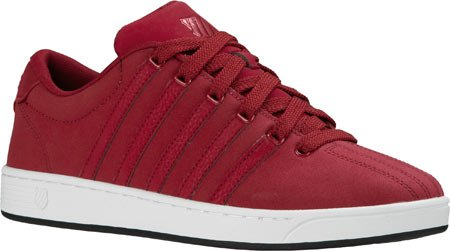 K-Swiss Men's Court Pro II ReflectiveCMF Fashion Sneaker, Biking Red/Black, 13 M US