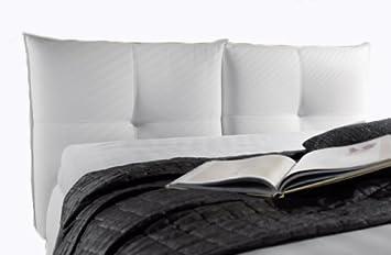 Ponti divani mara testiera letto imbottita con - Testiera letto a muro ...