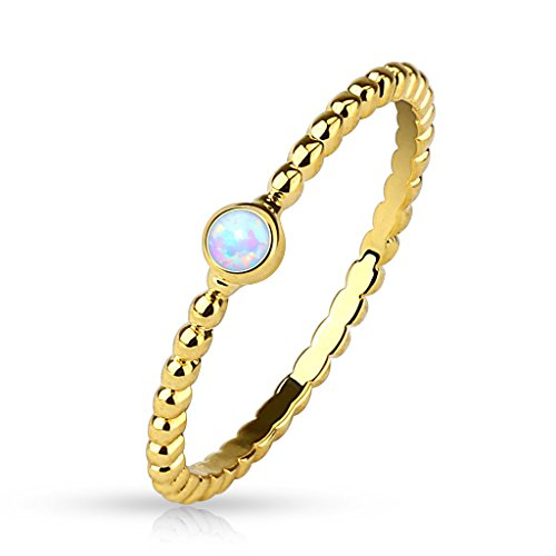 54-172-Damenring-mit-Opal-Kristall-Stein-gold-Ring-Damen-Fingerring-Partnerringe-Verlobungsringe-Trauringe-Damenring-Brass-14Kt