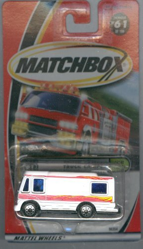 Matchbox 2000-61 Great Outdoors Truck Camper 1:64 Scale
